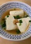豆腐のくずひき