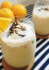オレンジ風味☆牛乳たっぷりカフェオレ