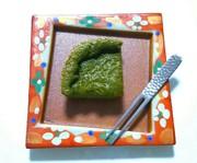 低糖質レシピ☆抹茶のお豆腐クラフティの写真