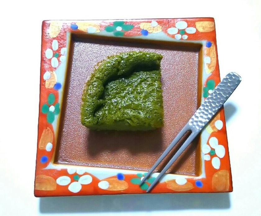 低糖質レシピ☆抹茶のお豆腐クラフティ