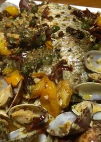 簡単 白身魚のアクアパッツァ
