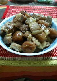 梅と豚バラ煮