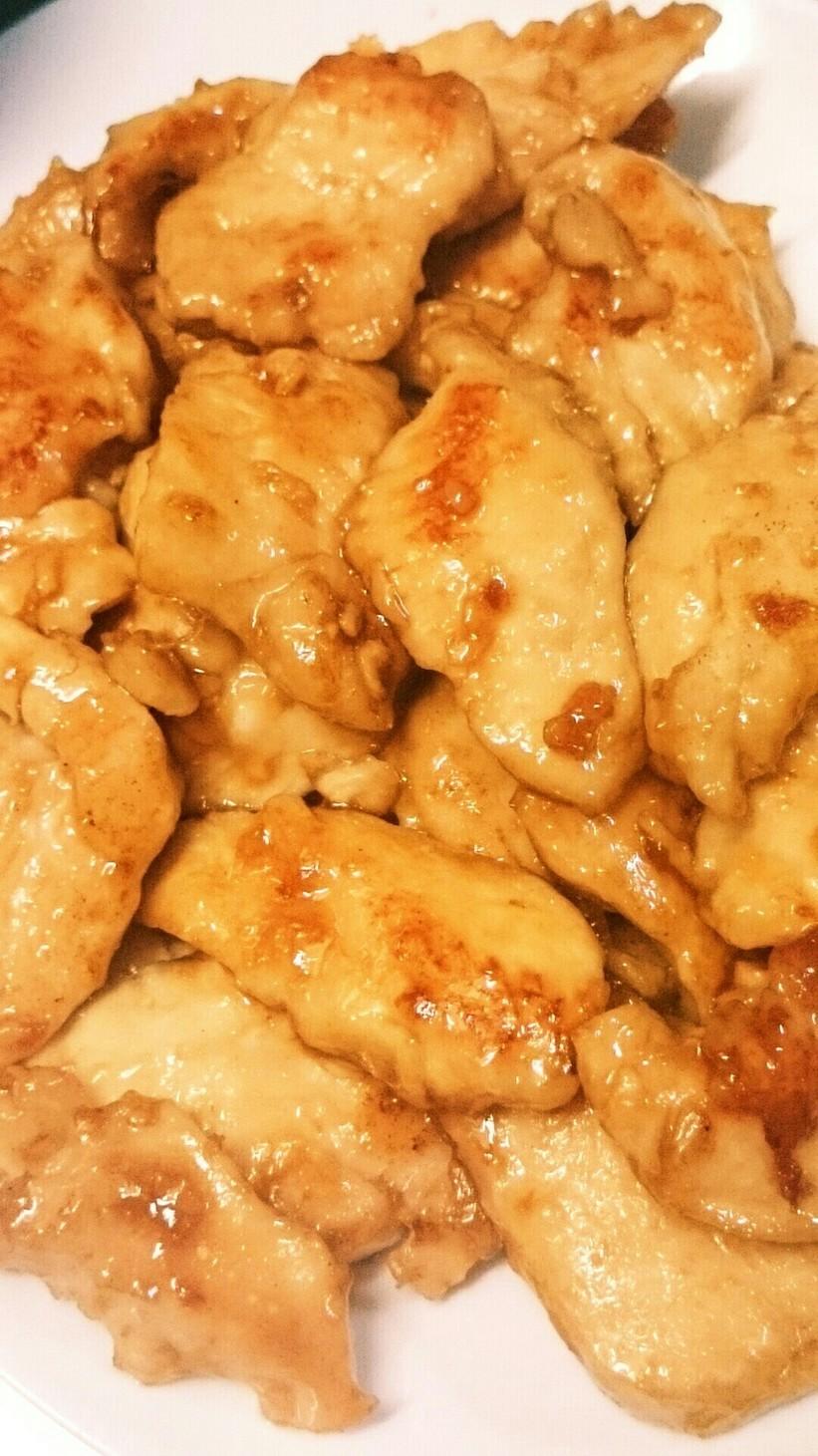 簡単鶏胸肉やわらかい生姜焼き常備菜おかず