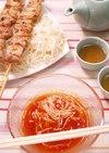トマトのベトナム風つけ麺