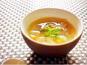 新玉ねぎと生姜のからだに優しいスープ