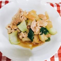 豚肉と残り物野菜炒め