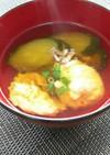 夏にさっぱり☆きゅうりと卵のお吸い物☆