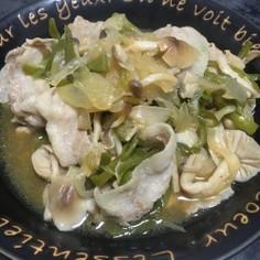 ブイヨンで簡単♪豚ばらと野菜の蒸し煮