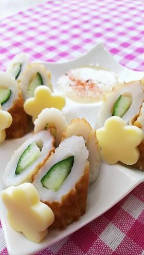 味噌マヨで食べる☆簡単ちくわきゅうり☆