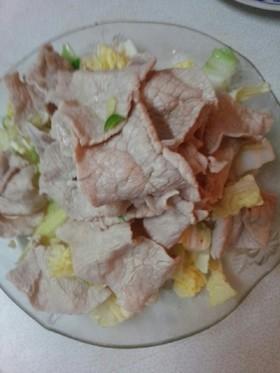 無油豚しゃぶ(血管ダイエット食811)