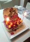 スプラトゥーン・フルーツアイスケーキ