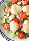 ホタテとトマトのイタリアン塩こうじサラダ