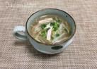 【 もやしとハムの中華スープ♪】