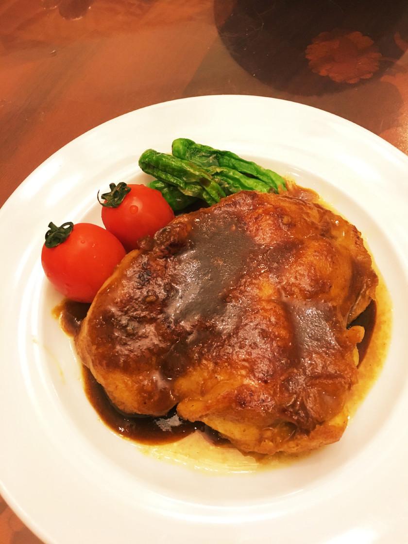 簡単♫鶏のカレーソース焼き♫
