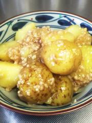 ジャガイモのそぼろ煮の写真