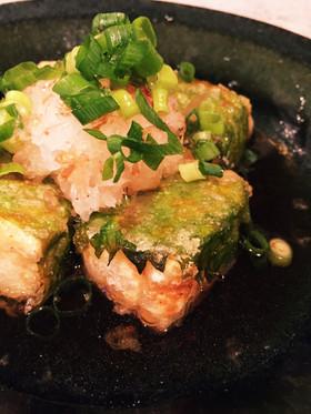 めんつゆで簡単☆しそ巻き☆揚げ出し豆腐
