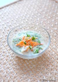 たっぷり野菜の*豆乳冷製スープ*