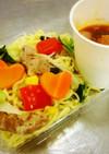 野菜たっぷり塩焼きそば&イタリアンつけ麺