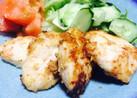 節約♡ヘルシー♡弁当♡鶏胸肉味噌マヨ焼き