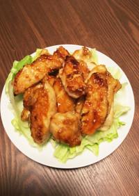 鶏胸肉の甘辛焼き