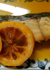フライパンで簡単♪サワラのレモン煮*゚