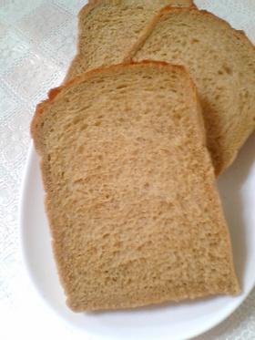 黒糖&コーヒーの食パン♪