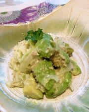 えごま油で☆アボカドとツナの健康サラダの写真