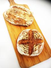 簡単♡基本のパン・ド・カンパーニュの写真