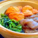 魚河岸あげとこんにゃくと小松菜の煮物♡