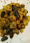 新生姜とささみのカレー炒めマヨネーズ和え