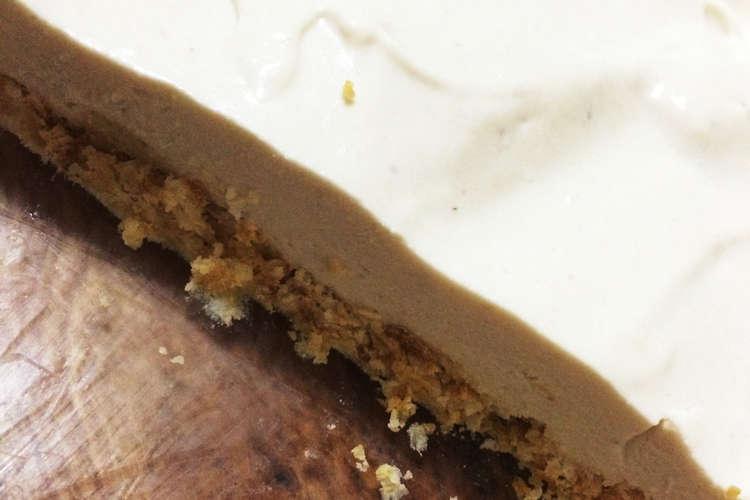 ゼラチン 簡単 レアチーズ なし ケーキ ゼラチンなし!オーブンなし!混ぜるだけ!口どけ!イタリアン生チーズケーキ  