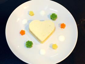 ハーフバースデーの離乳食ケーキ