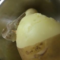 圧力鍋で時短 いもを蒸す【ズル剥け】