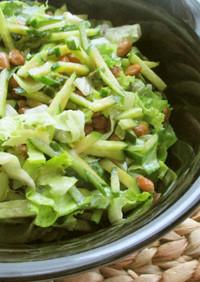 納豆グリーンサラダ