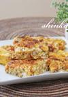 甘辛和風*合いびき肉と豆腐入りの卵焼き