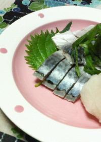 大好きな♡♡しめ鯖の食べ方♡♡