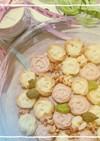 薔薇のきらきらパーティークッキー