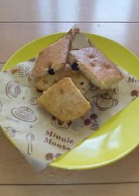 HMで簡単ブルーベリーケーキ