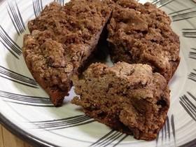玄米粉100%チョコケーキ
