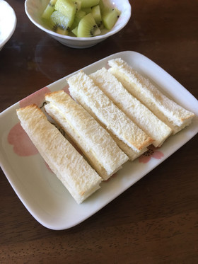 離乳食後期〜完了期☆チーズサンドトースト