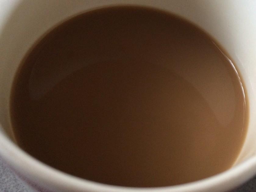 インスタントコーヒーでハニーカフェオレ