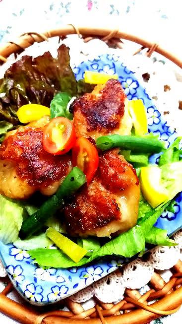 時短☆鶏肉の竜田揚げ☆ガッツリ男子お弁当