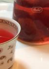 美しいすもも茶