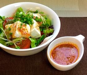 超簡単!ピリ辛豆腐サラダ