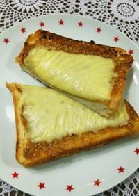 胡麻味噌蜂蜜☆チーズトースト♪