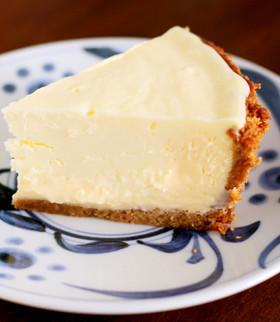 簡単濃厚♥ニューヨークチーズケーキ