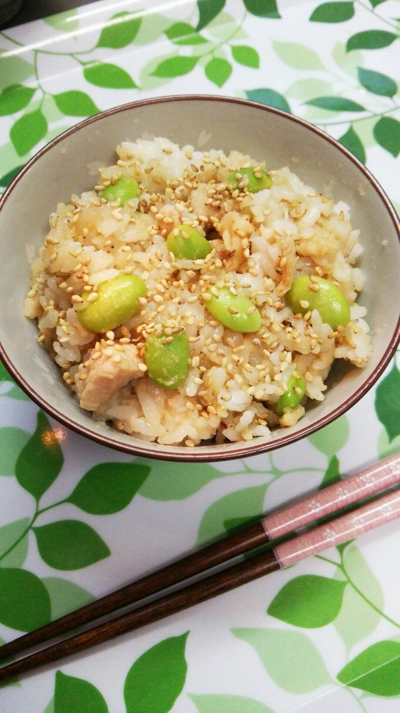 あまった天ぷらで簡単リメイク☆混ぜご飯
