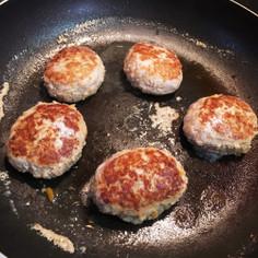 離乳食後期♡野菜たっぷりポークハンバーグ