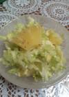 油料理に最高!キャベツの甘酢サラダ