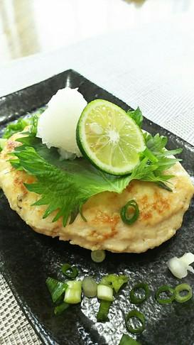 残った卯の花リメイク☆鶏肉のハンバーグ☆